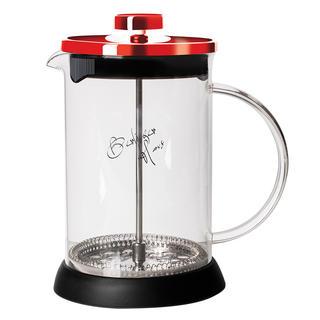 Dzbanek do herbaty i kawy French Press Burgundy Metallic Line 350 ml