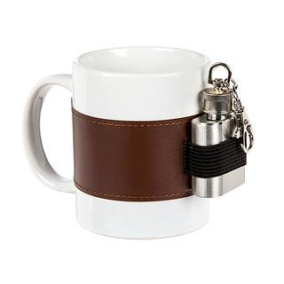 Kubek ceramiczny z piersiówką 250 ml