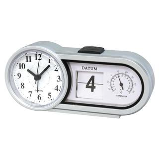 Zegar stołowy z datą i temperaturą