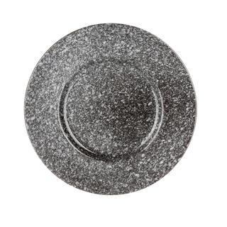 Talerz deserowy ceramiczny GRANITE 6 szt. BANQUET