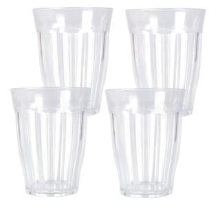 Zestaw szklanek plastikowych 4 szt.