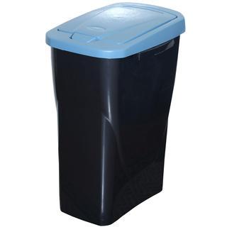 Kosz do segregowania śmieci niebieska pokrywa 25 l
