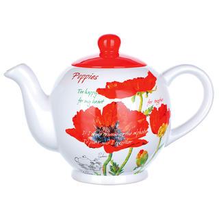 Dzbanek do herbaty Czerwone maki