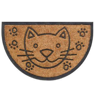 Wycieraczka półokrągła BOMBAY kot