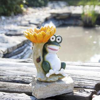 Dekoracja solarna Karmnik żaba