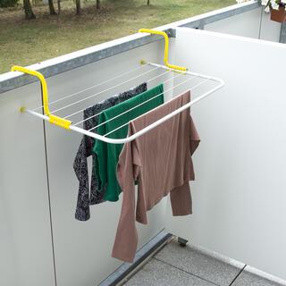 Suszarka zawieszana na balkon, długość sznura 4,5 m