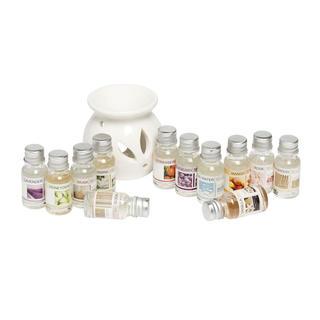 Lampa aromatyczna, 12 olejków
