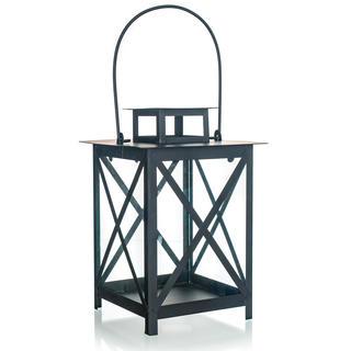 Metalowa latarnia czarna 25 cm