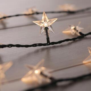 Łańcuch świetlny ze 100 gwiazdami LED 12,5