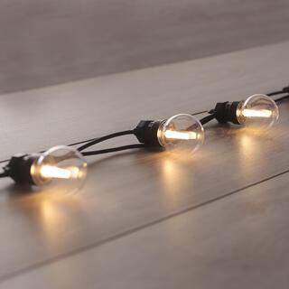Łańcuch świetlny z 10 żarówkami LED 8 m