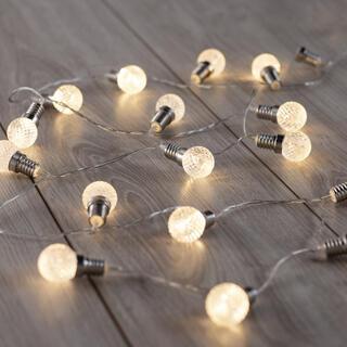 Łańcuch świetlny z 20 żarówkami LED 2,4 m