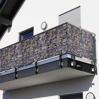 Osłona balkonowa KAMIENIE 85 x 500 cm