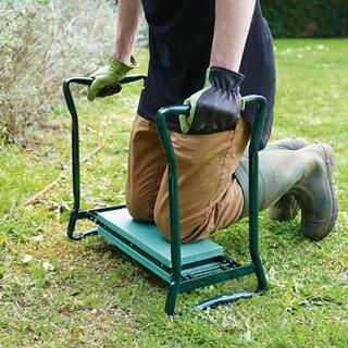 Krzesełko ogrodowe klęcznik 2w1