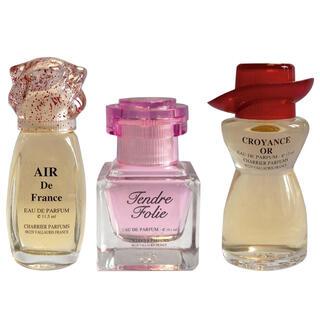 Francuskie perfumy, zestaw 3 szt.