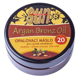 Masło do opalania z olejem arganowym SPF20 200 ml