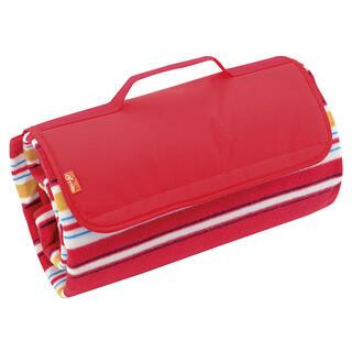 Koc piknikowy 150 x 135 cm czerwony
