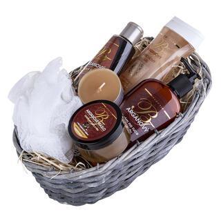 Koszyk prezentowy kosmetyków z olejem arganowym