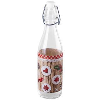 Butelka świąteczna na likier CIASTKA