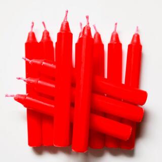 Zapasowe świece do świecznika z dzwonkami 12 szt.