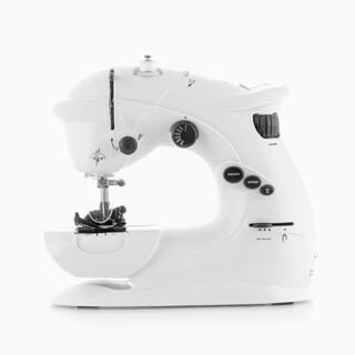 Mini maszyna do szycia biała
