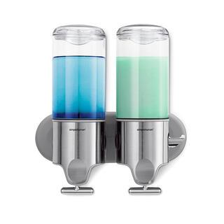 Ścienny dozownik mydła w płynie Simplehuman, podwójny