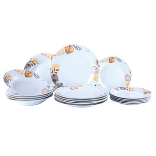 Porcelanowy zestaw obiadowy AUTUMN SPIRIT 18 części