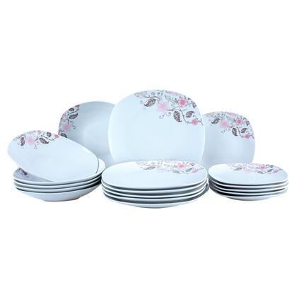 Porcelanowy zestaw obiadowy RHAPSODY 18 szt.