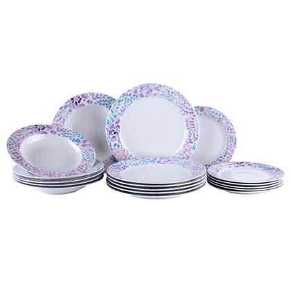 Porcelanowy zestaw obiadowy WILD BERRIES 18 szt.