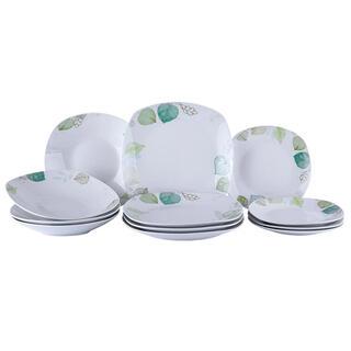 Porcelanowy zestaw obiadowy SPRING SPIRIT 12 szt.