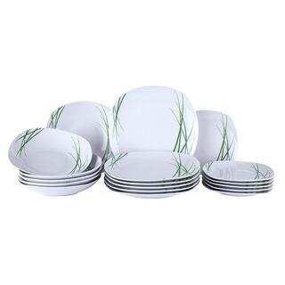 Porcelanowy zestaw obiadowy DELIA 18 szt.