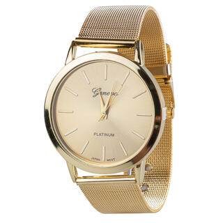 Damski zegarek GENEVA złoty