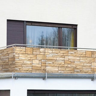 Osłona balkonowa KAMIEŃ PIASKOWIEC