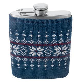 Świąteczna piersiówka w sweterku