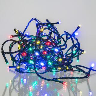 Łańcuch świetlny kolorowy