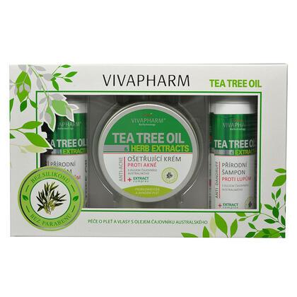 Kosmetyczne opakowanie upominkowe z tea tree olejem