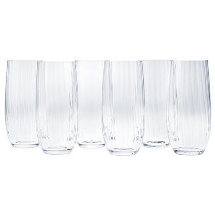 Zestaw szklanek long drink WATERFALL 350 ml 6 szt.