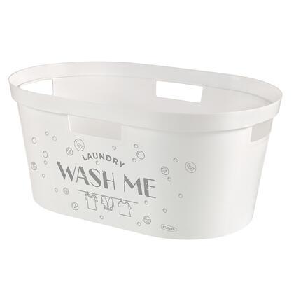 Kosz na czystą bieliznę INFINITY Wash Me 40 l