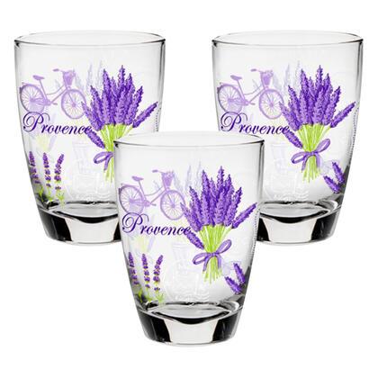 Zestaw szklanek LAVANDA 300 ml 3 szt.