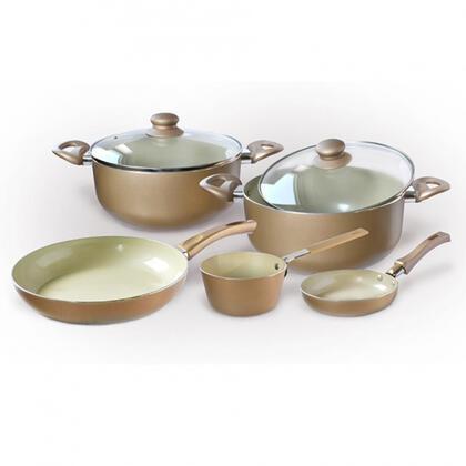7-częściowy zestaw  naczyń ceramicznych SZAMPAN