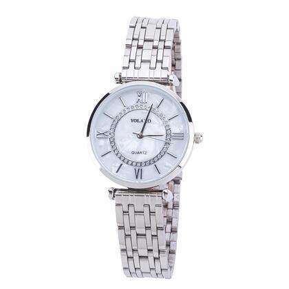 Zegarek damski bransoleta metalowa