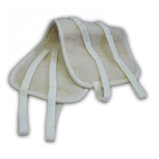 Dwustronny pas lędźwiowy z owczej wełny