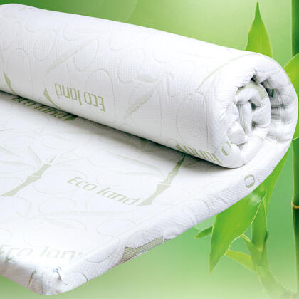 Materac ochronny z pamięcią kształtu BAMBOO Comfort 90 x 190 x 6 cm