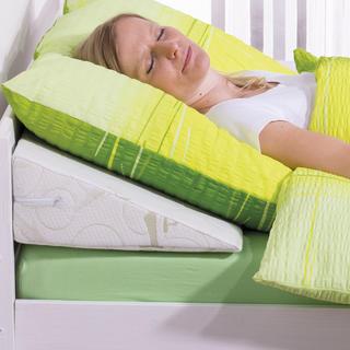Klinowy zagłówek Bamboo Comfort