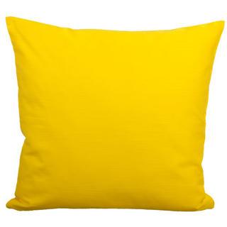 Poszewka bawełniana na poduszkę z kolekcji Kwitnąca łąka żółta