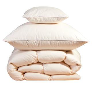 Kołdra 140 x 200 cm i poduszka 70 x 90 cm puchowo-pierzowe