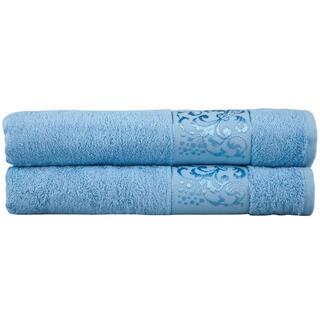 Ręczniki bambusowe jasnoniebieskie
