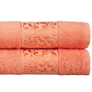 Ręczniki bambusowe morelowe