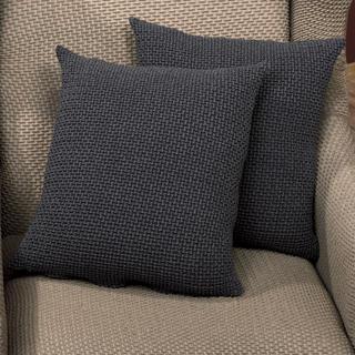 Elastyczne pokrowce Carla szare poszewki na poduszkę 2 szt. (40 x 40 cm)