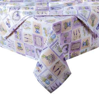 Obrus patchwork Lawenda