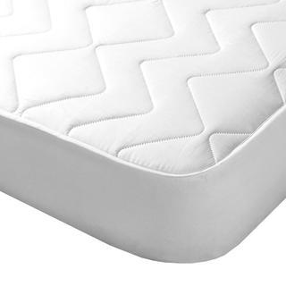 Pikowany pokrowiec na materac z aloe vera biały